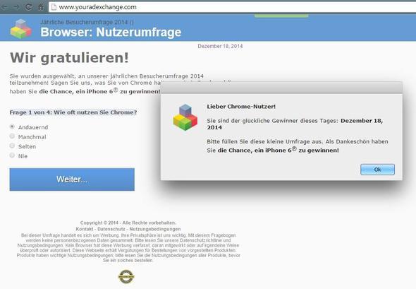 Spam Seite -.- - (Internet, Virus, Trojaner)