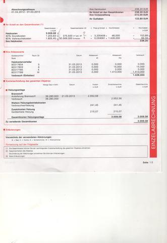 hilfe bei heizkostenabrechnung finanzen nebenkosten