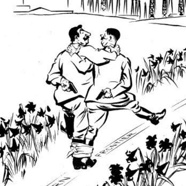 Hilfe bei hitler-stalin-Pakt Karikatur? (Geschichte)