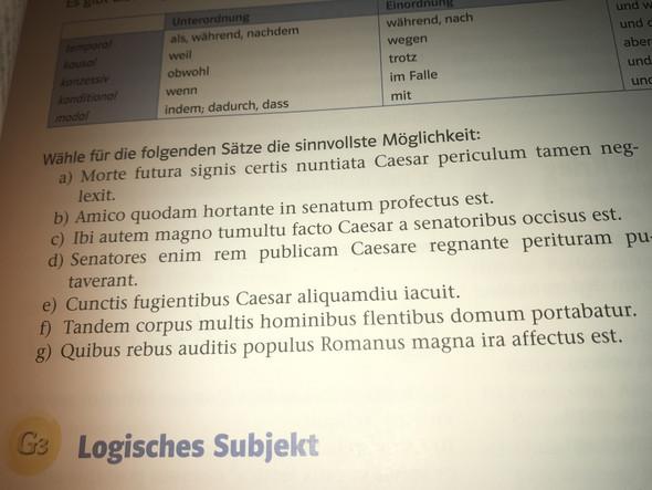 Latein - (Schule, Sprache, Uebersetzung)