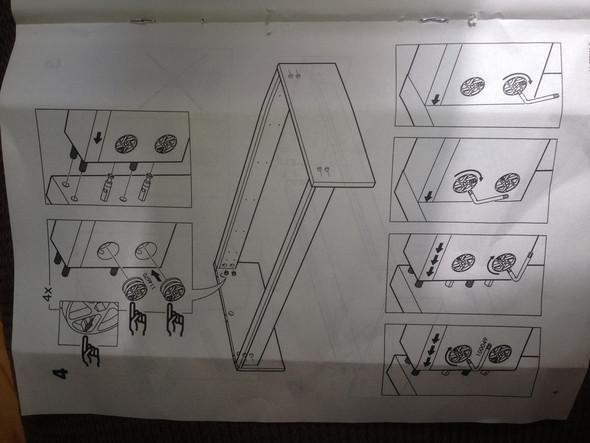 Die Anleitung Dazu   (Haushalt, Aufbau, Ikea Malm Bett)
