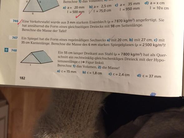 Nr. 748 - (Mathematik, Maße, Volumen)