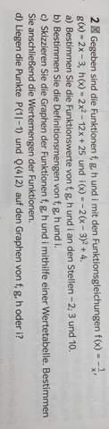 Hilfe Bei Mathe Einführungsphase?
