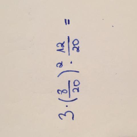 Hier ist die Aufgabe noch einmal  - (Schule, Mathe, Kopfrechnen)