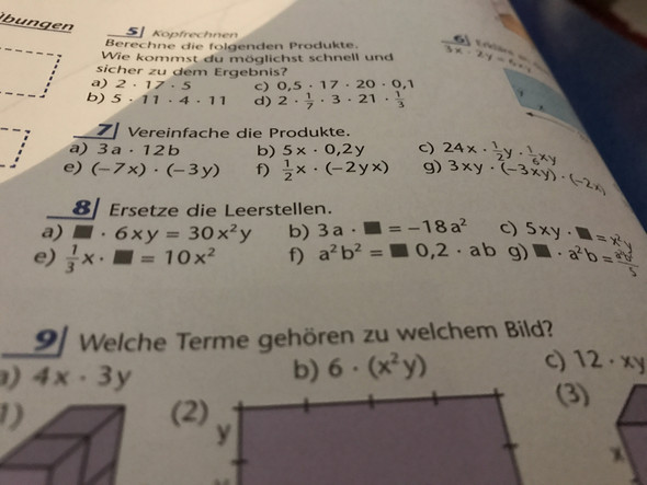 Aufgabe 8😩 - (Mathe, therme und gleichungen)
