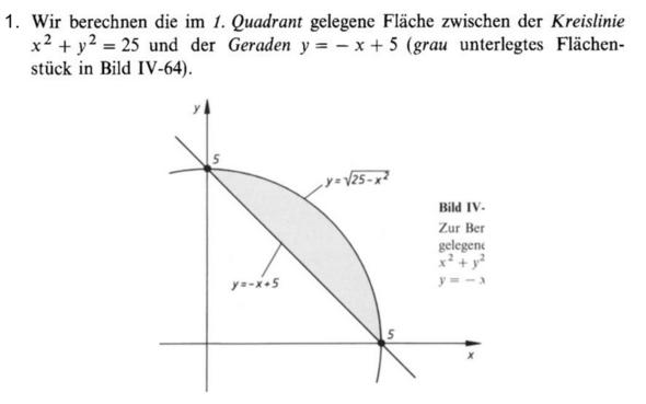 Aufgabenstellung - (Mathe, Mathematik, Integration)