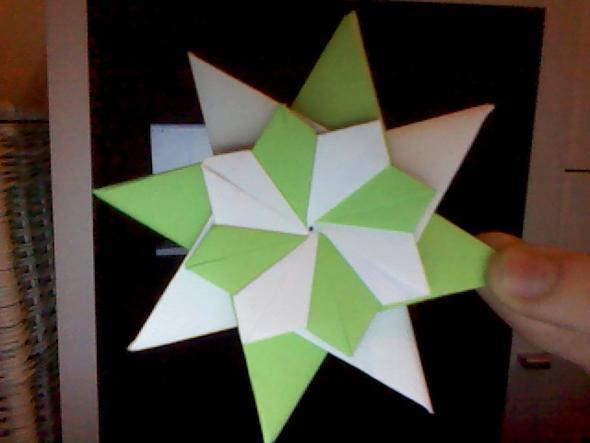 hilfe bei origami stern falten. Black Bedroom Furniture Sets. Home Design Ideas