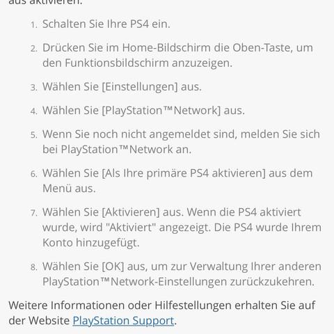Forderung für Deaktivierung - (PS4, Playstation, PSn)