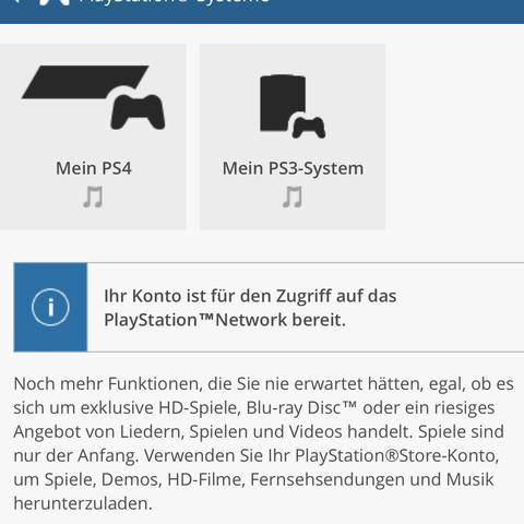 Auswal der bereits Aktiven Geräte - (PS4, Playstation, PSn)