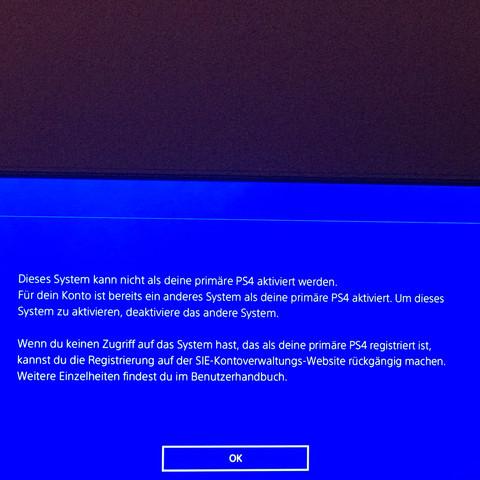 Auf der PS4 die antwort auf die Aktivierung - (PS4, Playstation, PSn)