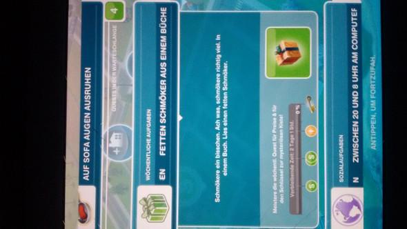 wöchentliche aufgabe - (Sims Freeplay)