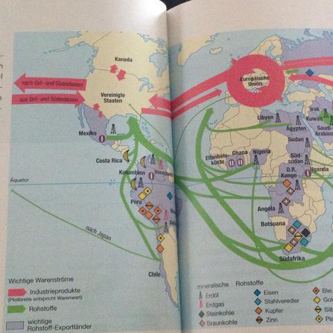 Erste hälfte - (Erdkunde, Welthandel)