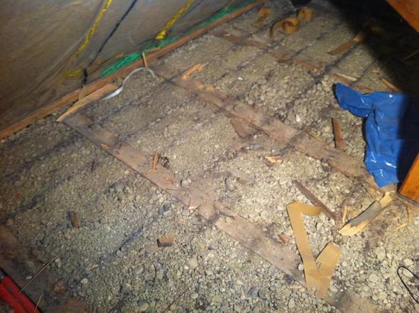 Welcher Fußboden Im Dachboden ~ Hilfe beim boden für dachboden ausbau speicher holz trockenbau