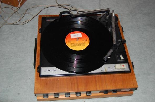 Der Plattenspieler - (Musik, Technik, Schallplatten)