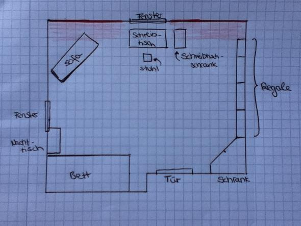 hilfe beim zimmer umstellen schl ge schr g. Black Bedroom Furniture Sets. Home Design Ideas