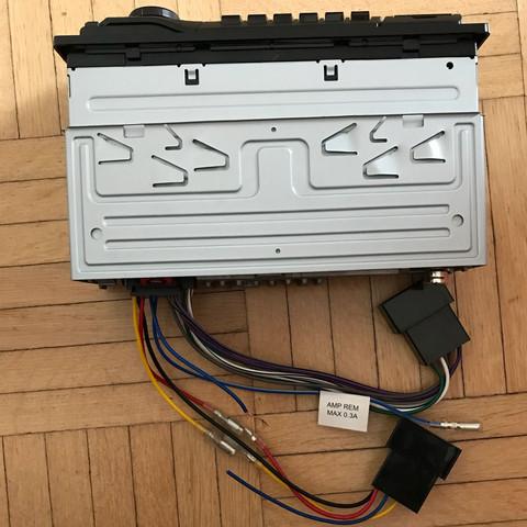 Hilfe! Blaues Kabel bei Autoradio abgerissen? (Technik, Technologie ...