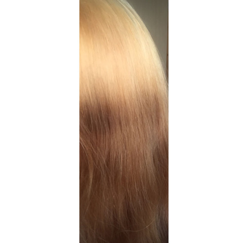 Und die Längen xD - (Blondierung)