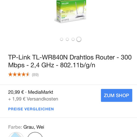 WLAN Router TP-link - (Computer, WLAN, Router)