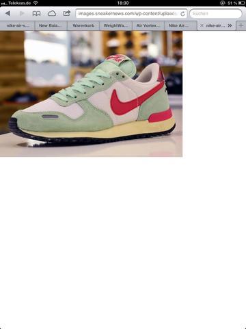 Nike Vortex mint cherry - (Schuhe, Nike, vortex)