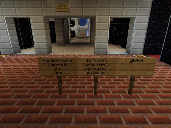 (mein hamachi server) - (Minecraft, Server, Plugin)