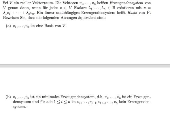 Aufgabe - (Mathe, lineare-algebra)