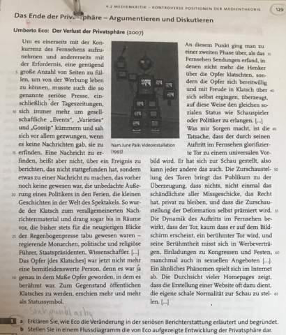 Hilfe HA Deutsch Text?