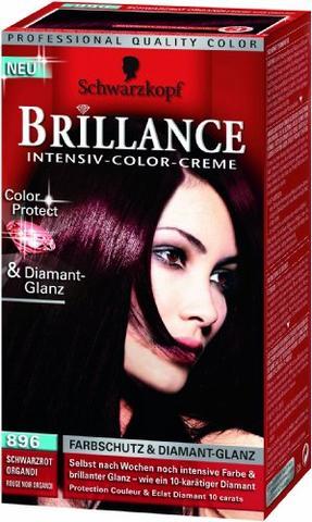 Farbergebnis:( - (Haare, färben, schwarz)