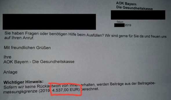 Hilfe, habe ich 4500€ Schulden bei der Krankenkasse? Was kann ich jetzt tun?