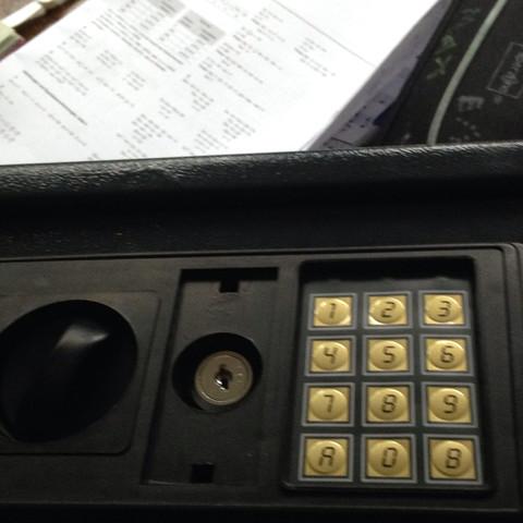 Der Tresor ohne Schlüssel  - (öffnen, Tresor)