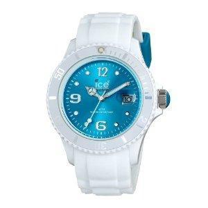 weiss - türkis - (Mädchen, kaufen, Uhr)