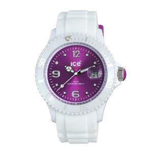 weiss - violett - (Mädchen, kaufen, Uhr)