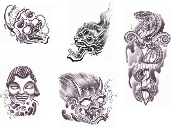 muster unten links - (Tattoo, Musterung)