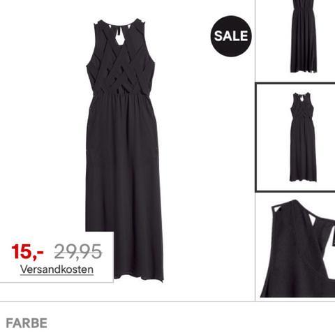 Am besten wäre es in schwarz:) In sehr gutem Zustand  - (Mode, Kleid)