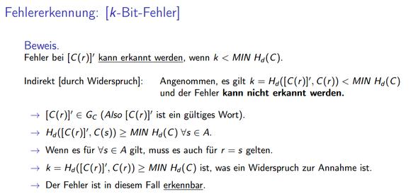 k-Bit.-Fehler - (Mathematik, Informatik, Beweis)