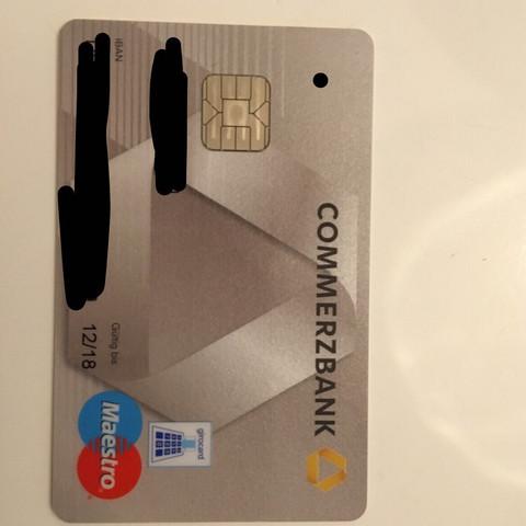 Kartennummer Ec Karte Commerzbank.Hilfe Karte Online Bestellung Karten