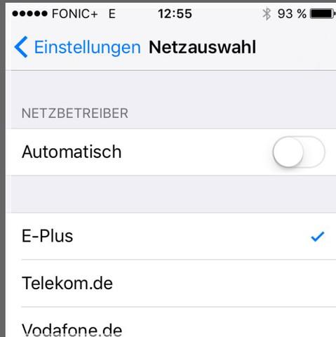 Handy Empfang von Eplus - (o2, Netz, lte)