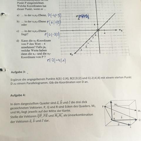 hilfe mathe vektoren linearkombination hausaufgaben klassenarbeit mathe hilfe. Black Bedroom Furniture Sets. Home Design Ideas