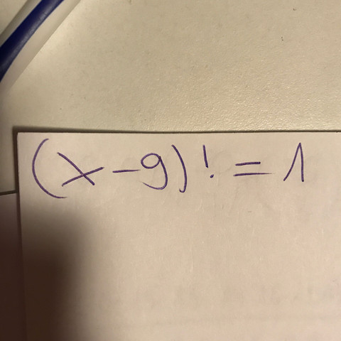Gleichung - (Gleichungen, FakultätFaku)