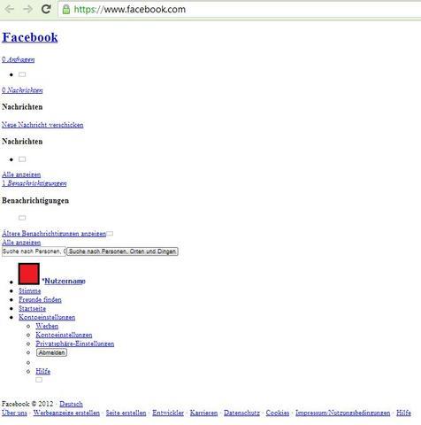 Meine Facebookseite - (Computer, Internet, Facebook)