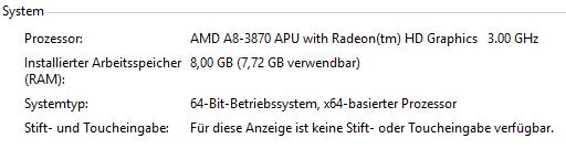Meine PC-Daten - (Computer, PC, Technik)