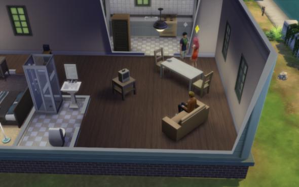 Sims 4 - (PC-Spiele, Sims 4, schlechte grafik)