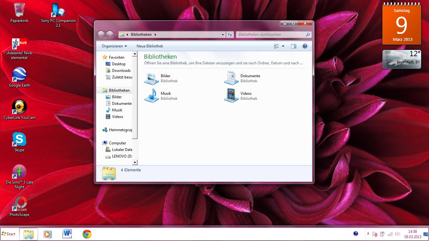 Hilfe! Mein windows 7 sieht aus wie bei den älteren