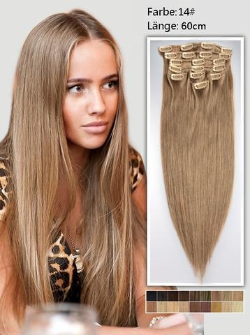 Haare braun farben gesunder