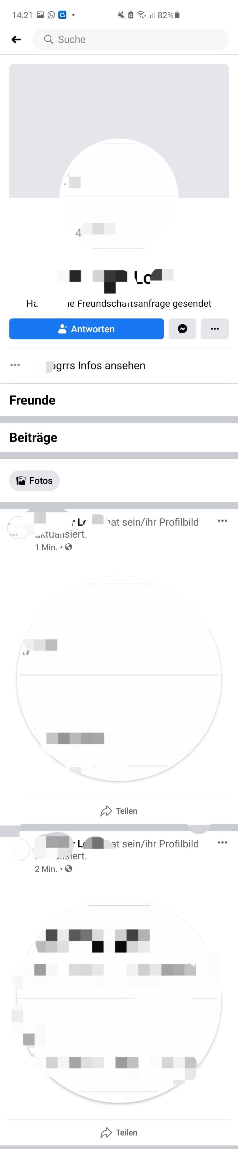 Fake Kontodaten