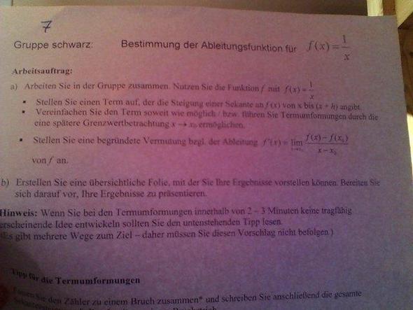 2. - (Schule, Arbeit, Mathe)