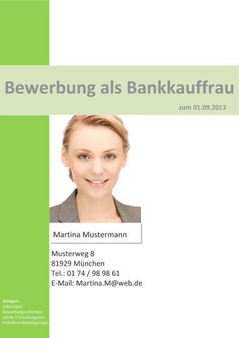 Deckblatt für Online-Bewerbung oder too much? - (Ausbildung, Lebenslauf, Deckblatt)