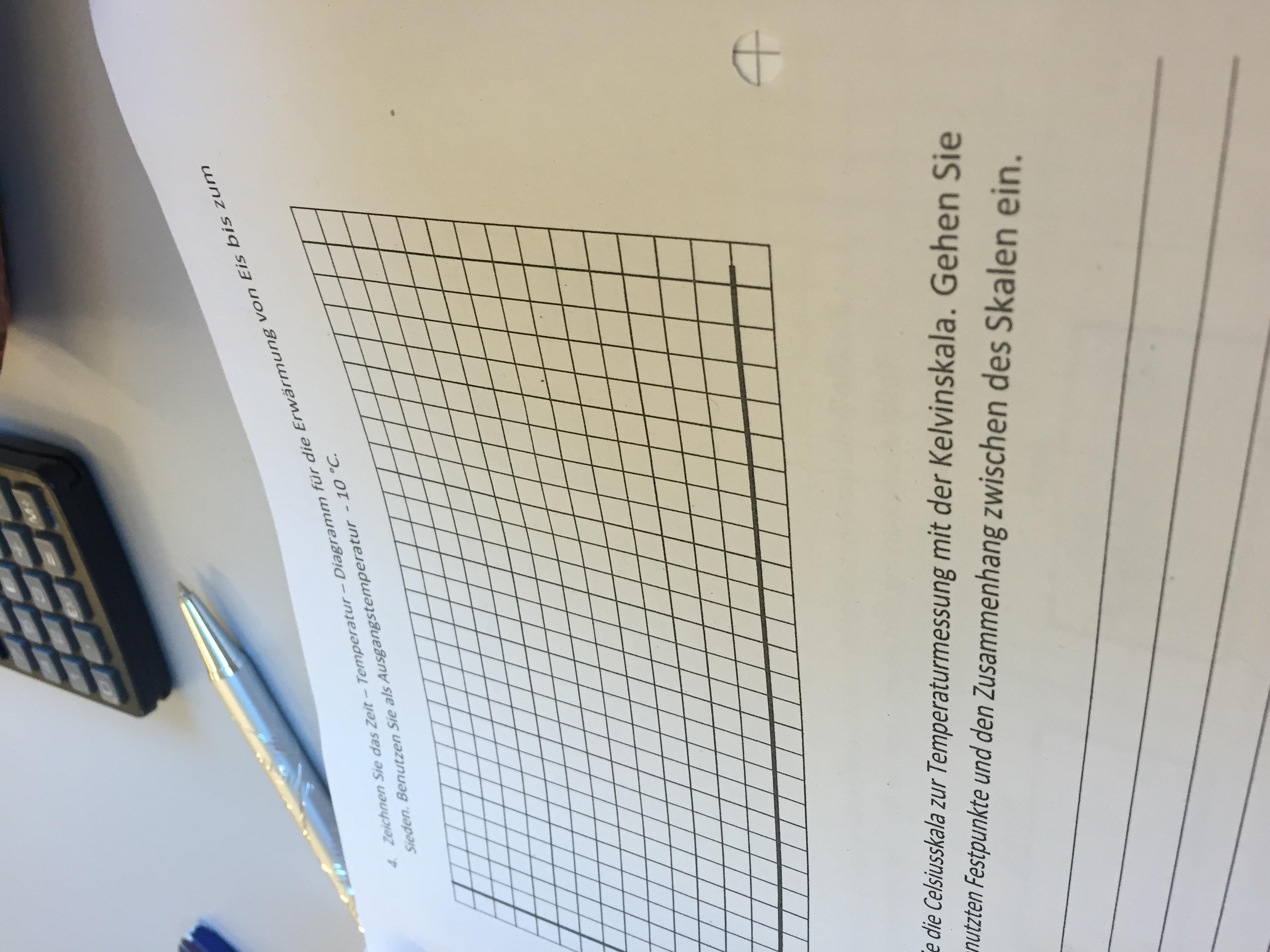 Hilfe Schule Physik Skalen Celsius und Kelvin (Hausaufgaben ...