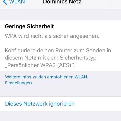 Sicherheitsempfehlung? - (Internet, WLAN, Router)