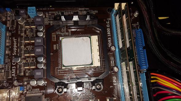- (PC, Montage, CPU Kühler)