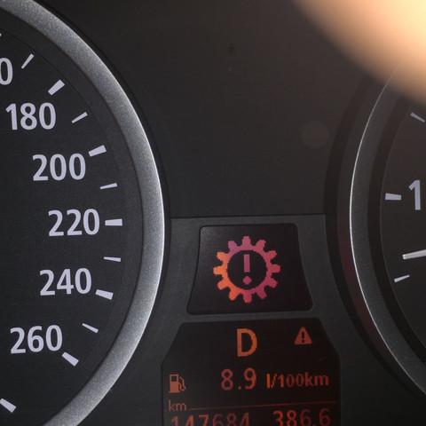 Was bedeutet das rote Aurufezeichen - (BMW, Ausrufezeichen, Warnleuchte)